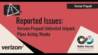 Verizon Prepaid Unlimited Jetpack - Having Drop Out / Reboot Issues? Possible Solutions!