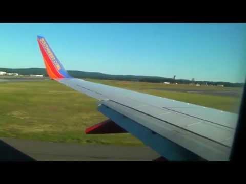Southwest Airlines Takeoff Hartford BDL