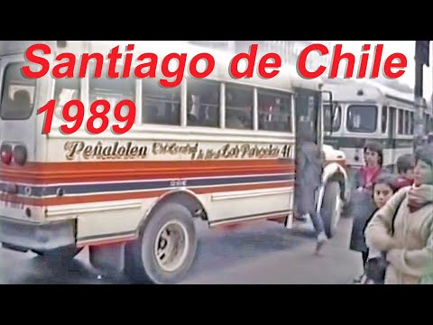 Santiago de Chile May 1989 Transit