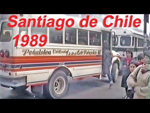 Santiago de Chile May 1989 Transit