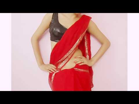 Jawani Deewani Saree Wearing Style-Sari Wraping Video TutorialHow...