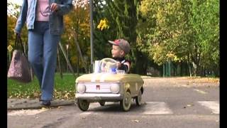 pedal car moskvich 1977