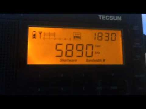 Brother Stair - 5890kHz WWCR - 'the end is nigh'...