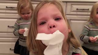WHEN YOU BLOW YOUR NOSE LIKE AN ELEPHANT