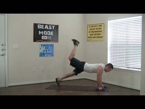 15 Min Dumbbell Work Out for Strength - HASfit Dumbbell Exercises - Dumb Bell Workout Training Image 1