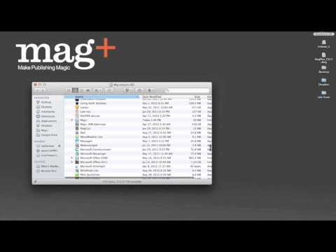 Installing the Mag+ InDesign Plugin for CS4, CS5 and CS6