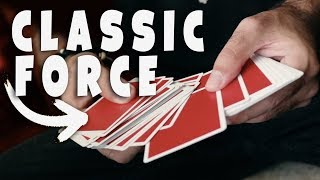 Every Magician NEEDS to learn this card force CORRECTLY! - MAGIC TUTORIAL