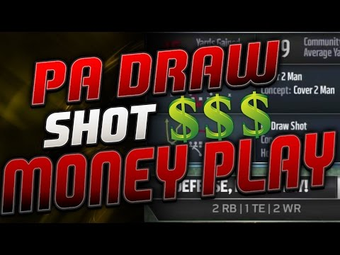 Pa Draw Shot Money Play, Unbumpable Route With Safety Glitch