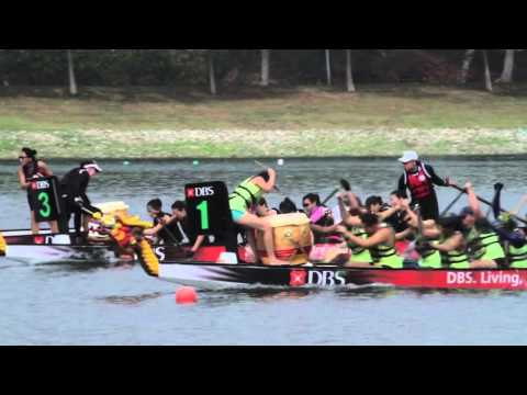 Singapore Dragon Boat Festival 2015 Highlights