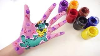 Bé Học Làm Họa Sĩ l Học Vẽ Nhận Vật Hoạt Hình l Tiếng Anh Cho Bé về Màu Sắc