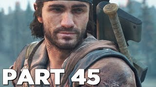 DAYS GONE Walkthrough Gameplay Part 45 - TOWER (PS4 Pro)