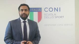 """Kelum Perera al """"Corso Nazionale CONI per Tecnici di IV Livello Europeo"""""""