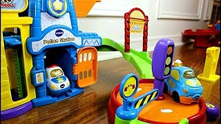 Smart Wheels City: World's Longest Vtech Go! Go! Smart Wheels Loop - Blue Car's Longest Journey