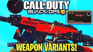 "How To Use ""WEAPON VARIANTS"" in COD BO4! - MX9 ""PATRIOT"" VARIANT GAMEPLAY in COD BO4! (BO4 VARIANTS)"
