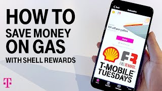 How To Save Money on Gas at Shell Gas | T-Mobile Tuesdays
