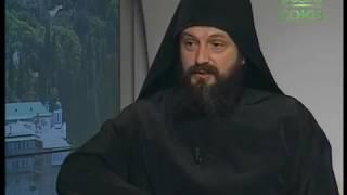 Монах Ермолай (Чежия) рассказывает о Русском Афоне в эфире телеканала «Союз»