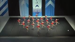Cheerleading . Senior Jazz Team Austria Jazz.