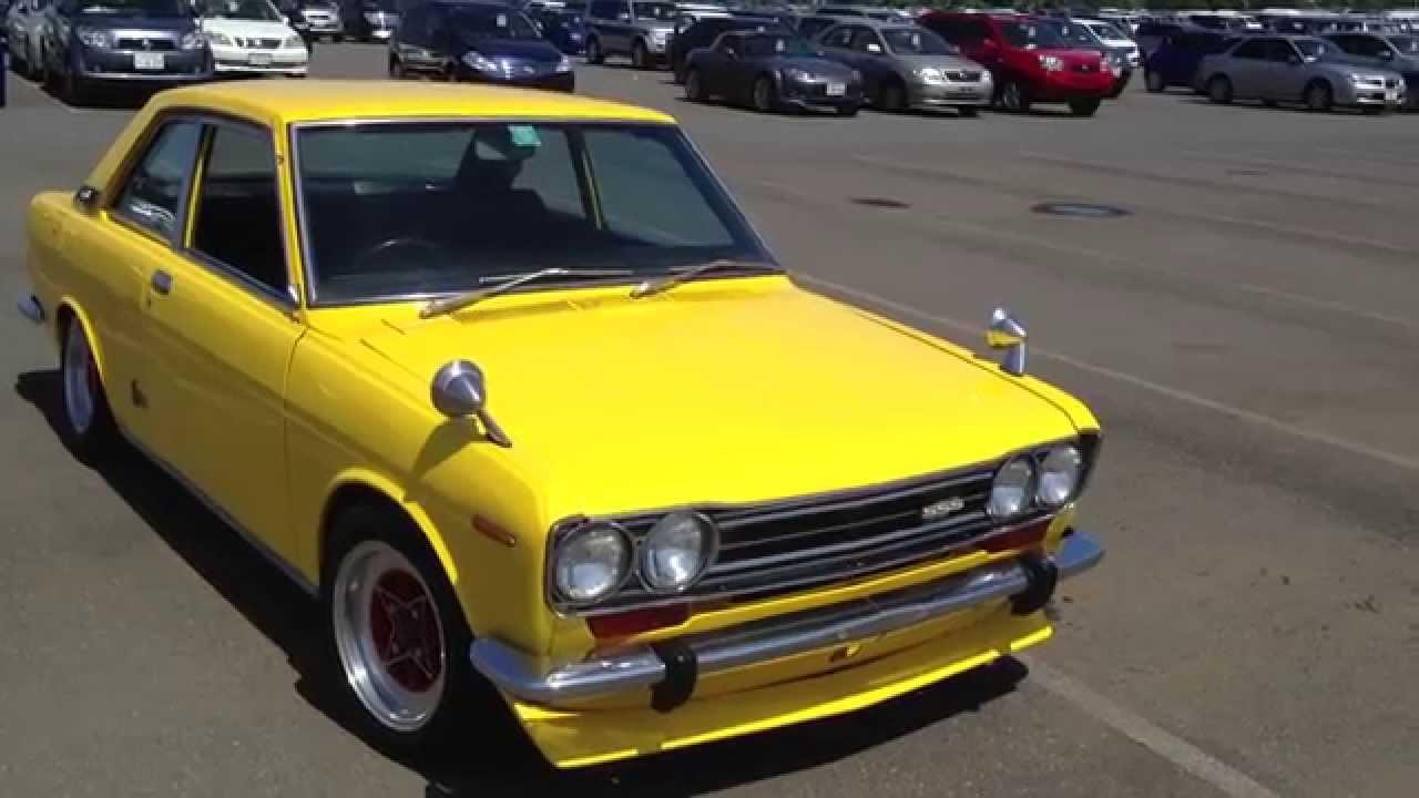 Mint Condition 1970 Datsun / Nissan 510 Bluebird SSS ...