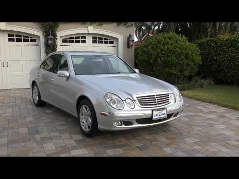 2005 Mercedes Benz E320 CDI Turbo Diesel Review and Test Drive by Bill - Auto Europa Naples