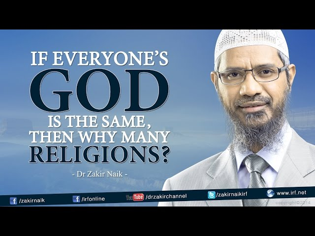 If everyone's God is the same, then why many 'Religions'?