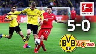 Borussia Dortmund vs. Union Berlin I 5-0 I Haaland, Sancho, Reus & Witsel Score