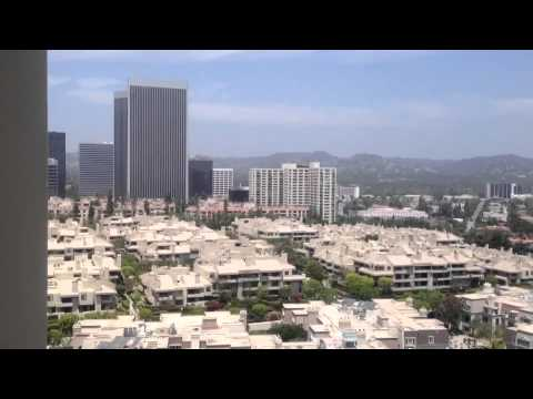 The beautiful view of Beverly Hills & LA from the Century Towers.