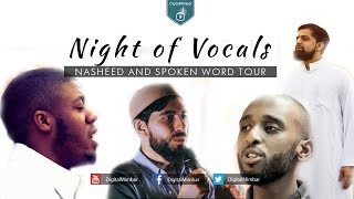 Night of Vocals | Vocal Only Nasheed and Spoken Word Tour