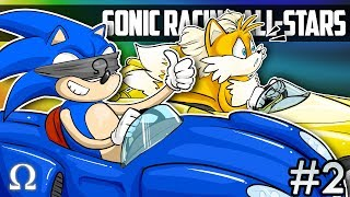 SONIC & FRIENDS GO RACING AGAIN!   Sonic Racing All Stars Transformed Ft. Friends