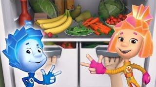 Фиксики - Витамины | Познавательные мультики для детей