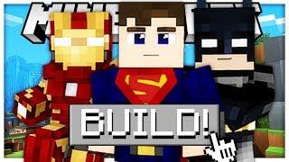 HOW TO CREATE ANY SUPERHERO IN MINECRAFT *AMAZING BRAND NEW GAMEMODE* - SUPERHERO CREATOR