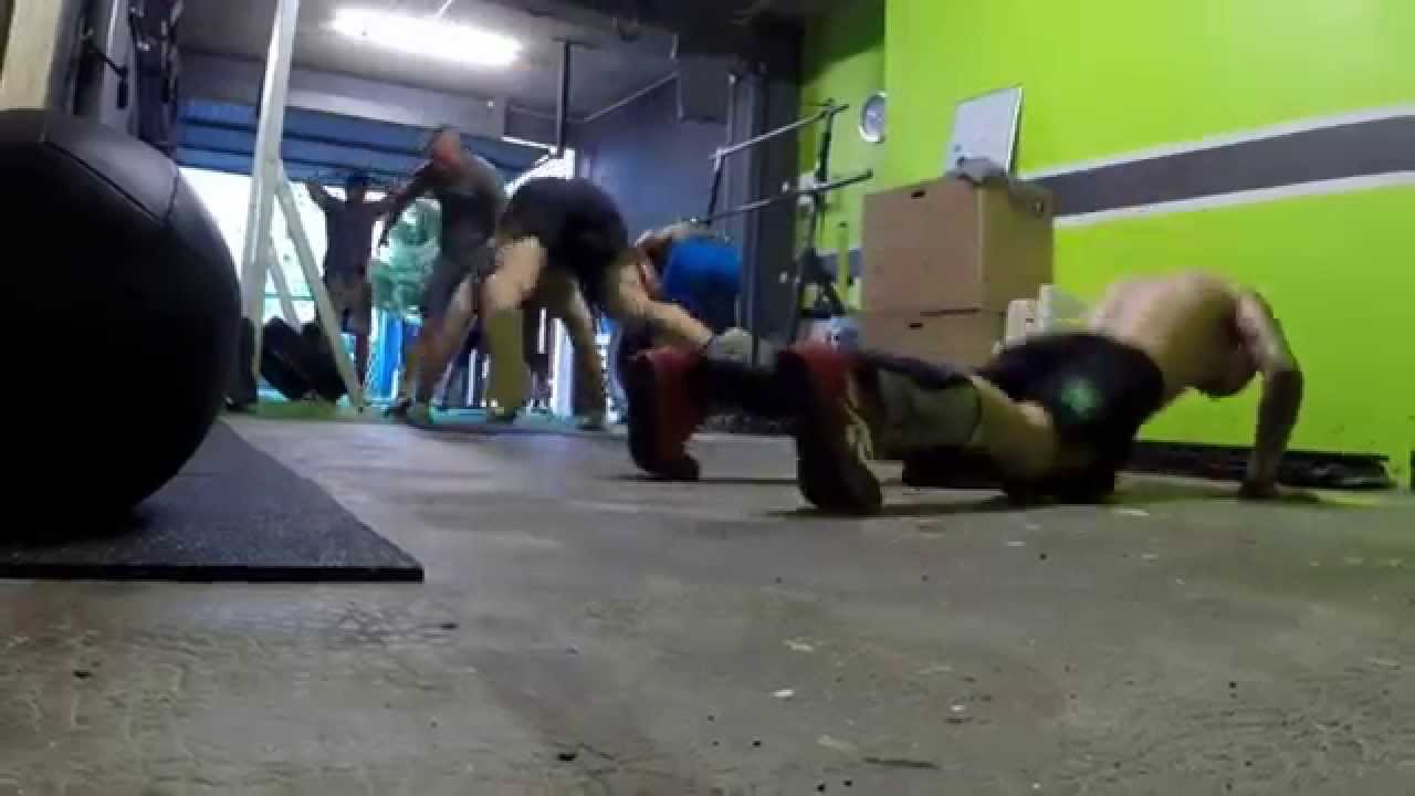 Wod burpees garage gym chambery youtube