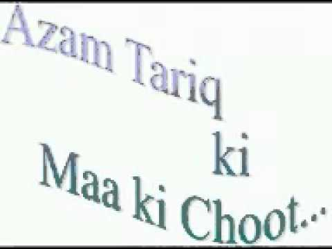 Azam Tariq - (the Late Leader Of Wahabi Kafirs)   Maa Ki Choot.flv video