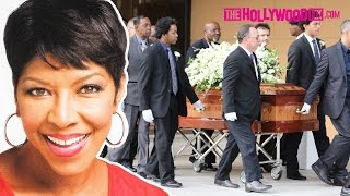 Natalie Cole Laid To Rest At Her Funeral In Los Angeles 1.11.16 - TheHollywoodFix.com