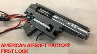 American Airsoft Factory - Exclusive First Look - Epilepsy Warning - See Info Section