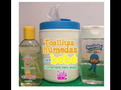 Toallitas bebe sin quimicos
