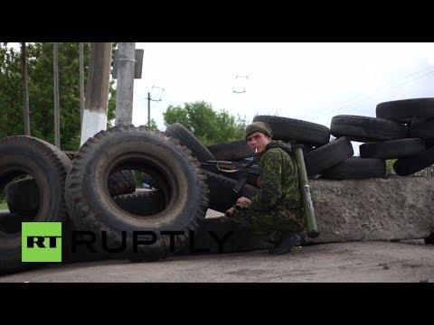 Ukraine: Anti-Kiev militants beef up Slavyansk checkpoints