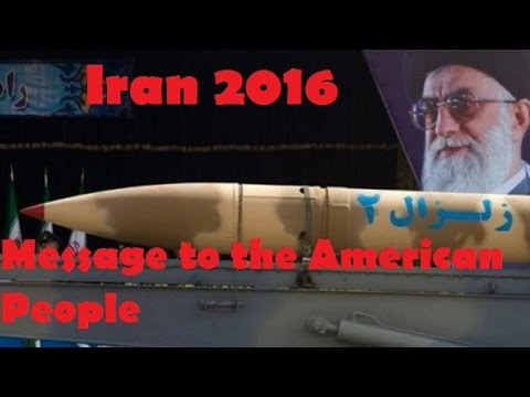 Message to the American People | Iran Military Power 2016