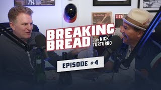 CATS SUCK! MICHAEL RAPAPORT STOLE MY ROLES! CHILL ALEX RODRIGUEZ! | Breaking Bread w/ Nick Turturro