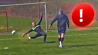 Amazing Goalkeeper Reflex & Saves by German Amateur