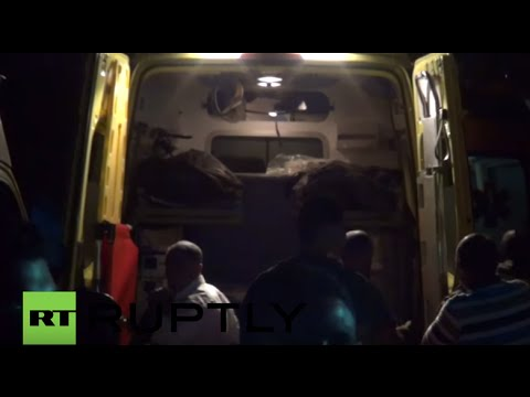 Egypt: Bodies of Mexican tourists arrive at Cairo morgue