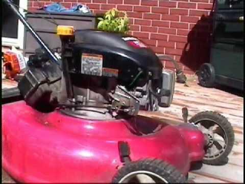 repair tecumseh  hp lawn mower   spark