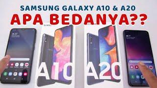 APA BEDANYA Samsung Galaxy A10 dan A20?? Tonton sebelum beli!