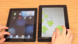 ASUS Eee Transformer Prime vs. Apple iPad 2