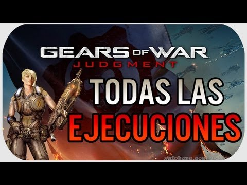 Gears Of War Judgment: TODAS LAS NUEVAS EJECUCCIONES #GearsReaper