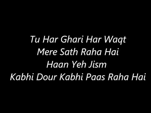 Atif Aslam's Kuch Iss Tarha 's Lyrics video