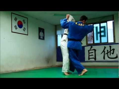 Judo in Korea: Osoto Gari to Sasae Tsurikomi Ashi Combination Image 1