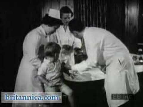 Jonas Salk and the Polio Vaccine (Britannica.com)