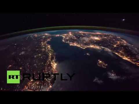 Stunning Time-lapse: ISS captures Europe lighting up the world