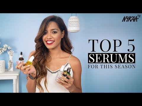 Top 5 Serums + GIVEAWAY(CLOSED) | Debasree Banerjee