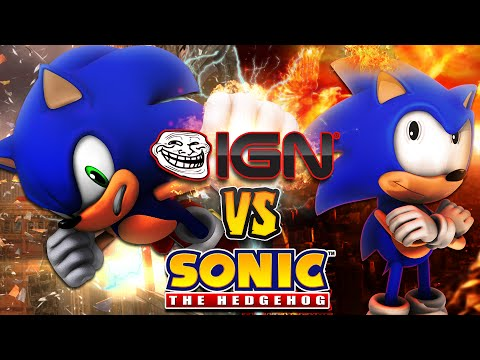 IGN VS Sonic & the Fanbase Sonic Was Never Good - My Thoughts